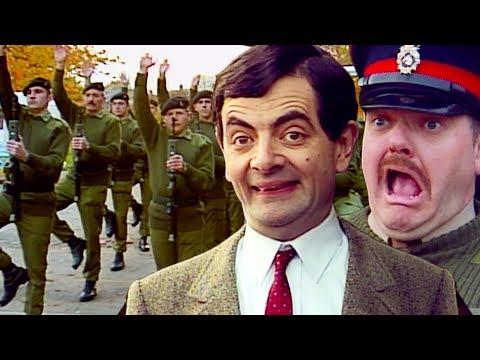 Army BEAN Mr Bean Full Episodes Mr Bean Official