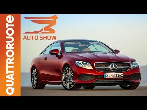 Nuova Mercedes Classe E Coupé al Salone di Detroit 2017 Quattroruote