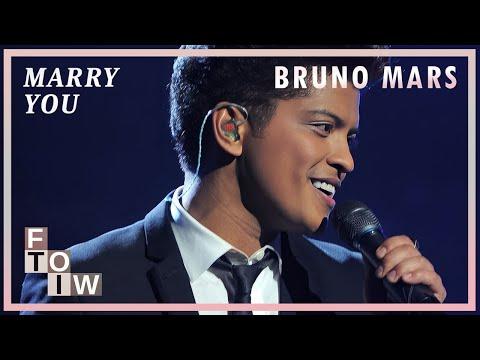Bruno Mars - Marry You (Lyric Video)