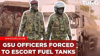 Breaking News Kenya: Fuel Shortage in Kenya - GSU Officers to Escort Trucks from Depot | Tuko TV
