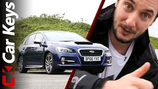 2017 Subaru Levorg Review - Subaru's All-Paw Sports Estate Gets An Update - Car Keys