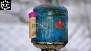 FIRECRACKER VS GAS BOTTLE