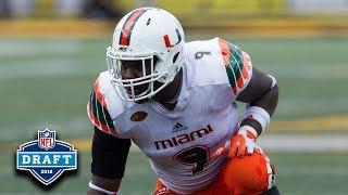 Chad Thomas NFL Draft Tape: Miami DE