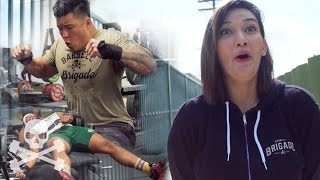 I'M GONNA SH*T MYSELF: Pregnant Powerlifter (Episode 9)