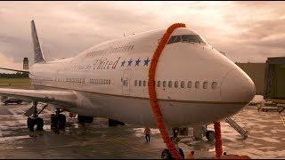 United - The Friend Ship's farewell flight