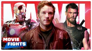 What's the BEST Scene in the MCU? | AVENGERS MOVIE FIGHTS