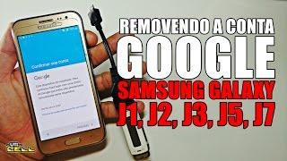 Removendo a conta Google do Samsung Galaxy J2 (SM-J200) #UTICell
