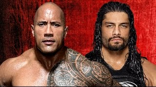 The Rock vs Roman Reigns Wrestlemania 33 Promo HD