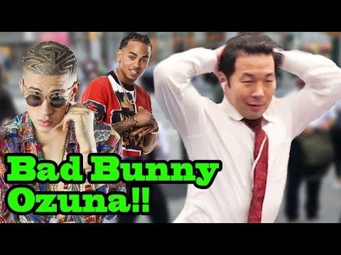 Best of BAD BUNNY x OZUNA - SINGING IN PUBLIC!! (Te Bote, Unica, Madura)