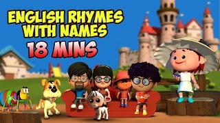 English Rhymes For Children | Compilation of Names | LIV Kids Nursery Rhymes and Songs | HD
