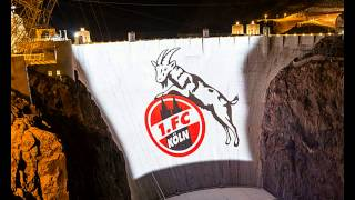 Why Was A Giant Goat Logo Projected Onto the Hoover Dam?