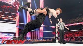 Roman Reigns vs. Sheamus: Raw, July 6, 2015
