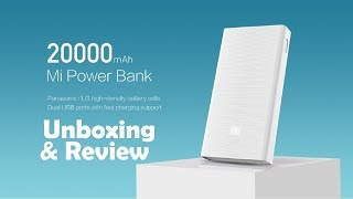 mi power bank 2i 20000mah Unboxing & Review