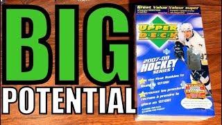 07/08 Upper Deck Series 1 Hockey Retail Blaster Box Break