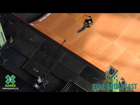 The Real Cost Skateboard Big Air FULL BROADCAST X Games Minneapolis 2019