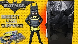 BIGGEST Lego Batman Movie Surprise Block Toys Unboxing Fun Kids Building Lego Set Ckn Toys