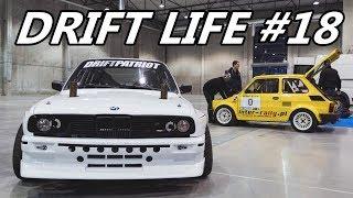 Drift Life #18 - Dzik in SPA, Omega burnouts, Ostróda fairs