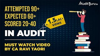 How to Study, Write & Score in AUDIT