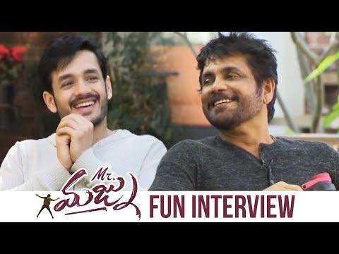 Xxx Mp4 Akkineni Nagarjuna And Akhil Special Interview About Mr Majnu Manastars 3gp Sex