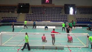 2018 Goalball World Championships Brazil v Iran 2nd Half