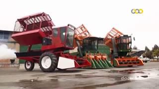 Iran made Cotton harvest machinery manufacturer سازنده دستگاه هاي پنبه چيني ايران