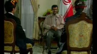 پرسش خبر نگار فرانسوي در مورد كاپشن احمدي نژاد