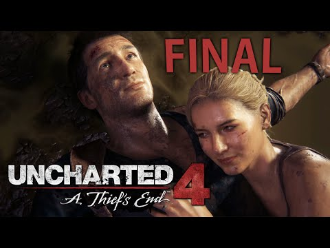 Uncharted 4: A Thief's End - FINAL ÉPICO!!!!!! [ Playstation 4 - Playthrough PT-BR ]