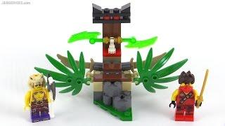 LEGO Ninjago Jungle Trap review! set 70752