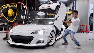 We Installed Lambo Doors on a Subaru BRZ!