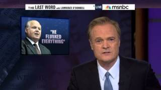 Lawrence O'Donnell Destroys Rush Limbaugh 7/16/2012