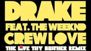 Crew Love (Love Thy Brother Remix) - Drake feat. The Weeknd