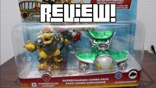 Skylanders Superchargers: Hammer Slam Bowser Duel Pack Review