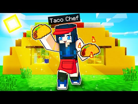 We made a TACO RESTAURANT in Minecraft