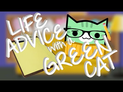 Xxx Mp4 LIFE ADVICE WITH A GREEN CAT Geometry Dash Juniper 3gp Sex