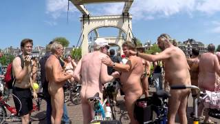 World Naked Bike Ride Amsterdam 2015