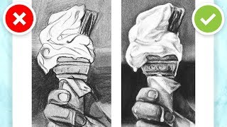 5 BIG MISTAKES FOR REALISTIC DRAWING