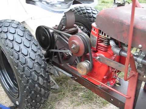 WheelHorse RJ35 Belt Drive and Veri Drive Overview and Set Up Wheel Horse