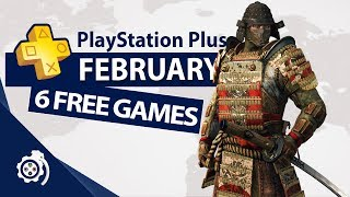 PlayStation Plus (PS+) February 2019