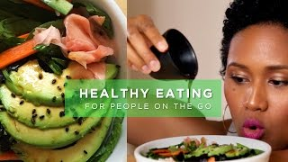 3 Healthy Meals in 5 Minutes (Vegan/Vegetarian Friendly)