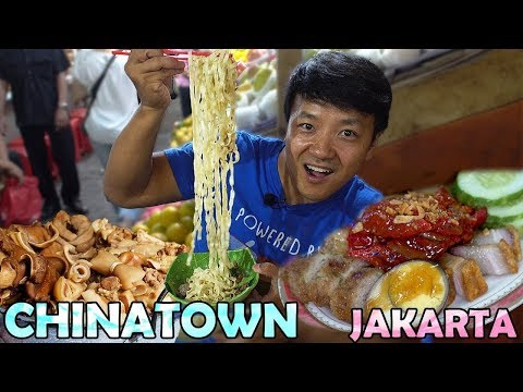 CHINESE Street Food Exploring CHINATOWN in Jakarta Indonesia Food Tour