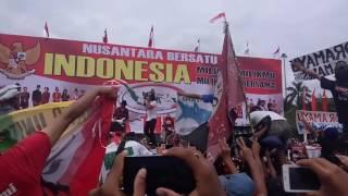 Nusantara bersatu di monas