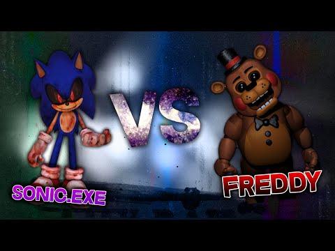 FREDDY FAZBEAR VS SONIC.EXE RAP   CarRaxX ft. Mc Energy