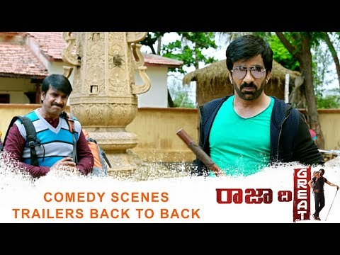 Xxx Mp4 Raja The Great Comedy Scenes Trailers Back To Back Ravi Teja Mehreen Pirzada Its Laughing Time 3gp Sex
