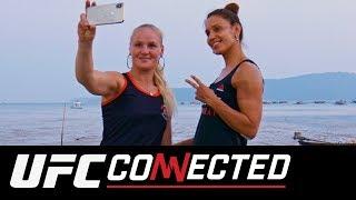 UFC Connected: Valentina and Antonina Shevchenko, Molly McCann, Fight Night London