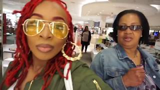 MY FIRST VLOG: Shopping, 3oh Black Videoshoot, Suitland High School