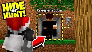 Minecraft enemies are stalking us! - Hide Or Hunt #2
