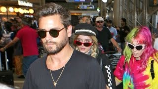 Scott Disick Heads To Europe With