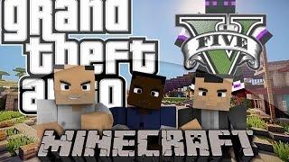 Minecraft 1.9/1.8.9/1.8/1.7.10/1.7.2 - Mapa Grand Theft Auto V (GTA5)