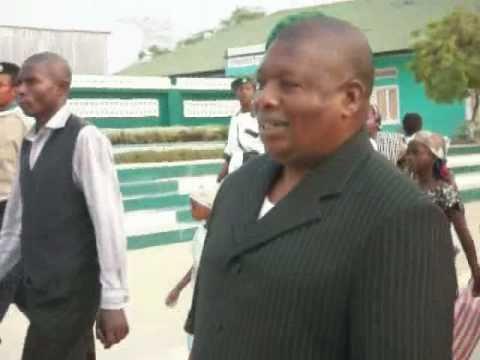 Papa Simon Kimbangu Kiangani dans Nkamba