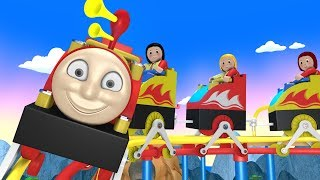 Roller coaster for Kids -  Toy Factory Thomas - Trains for Kids - Toy Trains - Kids Videos for Kids